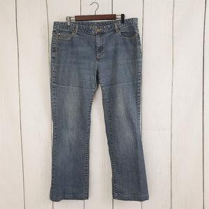 Michael Kors Medium Wash Jeans 16W